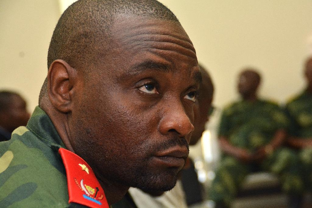 "Congolese warlord Germain Katanga, pictured in February 2016, has been ordered to pay some reparations for ""transgenerational harm"" by the ICC, but five children were denied compensation"