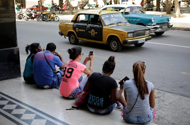 Cuba has been filtering texts containing political dissent