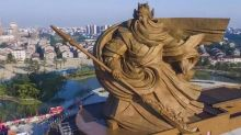 China's government says two imposing tourist attractions are 'vain and wasteful' and must be rectified