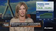 Intel, Merck lead stocks higher