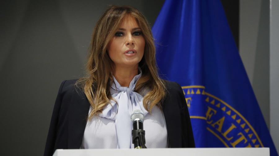 Melania Trump warnt vor Cyber-Mobbing