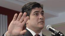 El presidente de Costa Rica va a EE.UU. en busca de inversión de alta tecnología