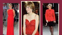 Princess Diana's Most Iconic Outfits All Included the Color Red