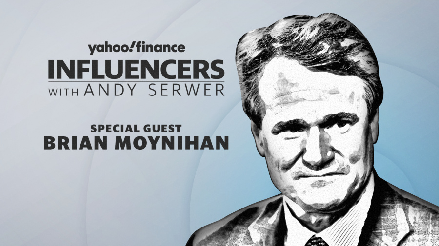 Brian Moynihan joins Influencers with Andy Serwer