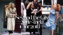 重看《 Sex and the City 》劇中角色穿搭,原來早已預告 2018 時尚趨勢!