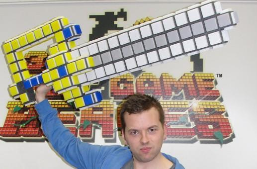 Make a 3D Dot Game Heroes hero and win the coolest foam sword of all time