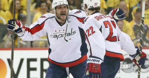 Hockey - NHL - Les Washington Capitals se reprennent et réduisent l'écart contre Pittsburgh