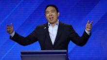 Andrew Yang responds to backlash over forgiving new 'SNL' member Shane Gillis for racial slur