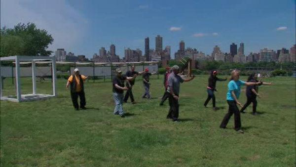 Free outdoor workouts in New York City