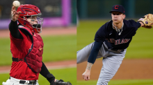 Cleveland Indians catcher Roberto Perez, pitcher Zach Plesac named finalists for Gold Glove Awards