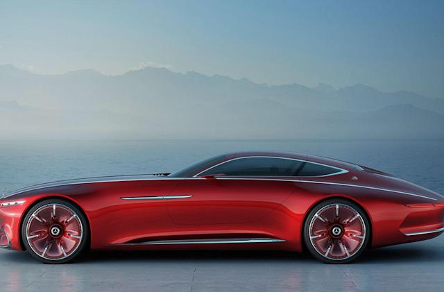 Mercedes-Maybach concept is a look at the future of luxury cars