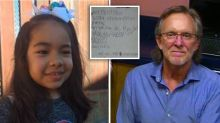 Man fulfils little girl's Christmas wishes after finding list on deflated balloon