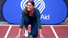 Duchess of Cambridge wears £29.50 Marks and Spencer trainers at SportsAid event