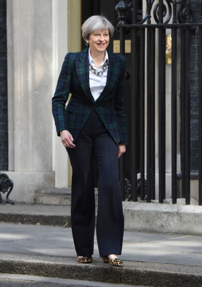 British Prime Minister Claims Her Shoes Have Inspired Others to Go Into to Politics, But Twitter's Not Convinced