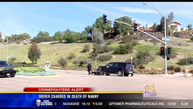 Driver charged in death of nanny