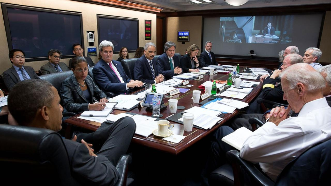Inside The White House Situation Room