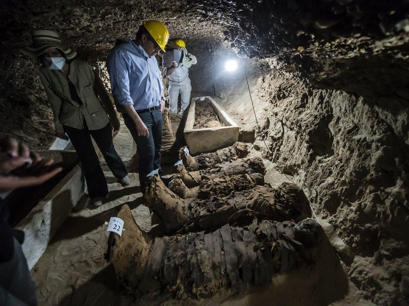 Found: 17 New Mummies From Ancient Egypt