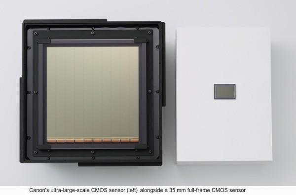 Canon develops world's largest CMOS sensor, shoots 60fps video in moonlight
