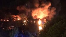 Essex warehouse engulfed by huge blaze