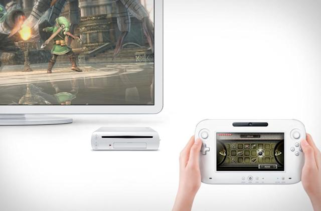 With Wii U, Mario will use two screens and Zelda won't look like this