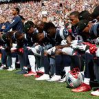 NFL players defiantly react to President Trump's comments