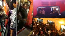 El dolor de viajar en el transporte público de la CDMX