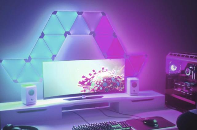 Nanoleaf's colorful wall tiles now act as Razer gaming controls