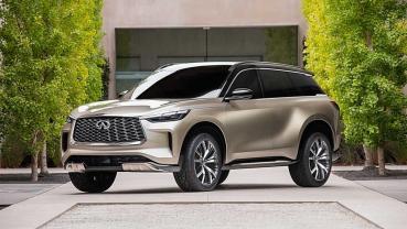 2020北京車展報導:INFINITI發表QX60 Monograph原型車預告全新QX60的未來樣貌