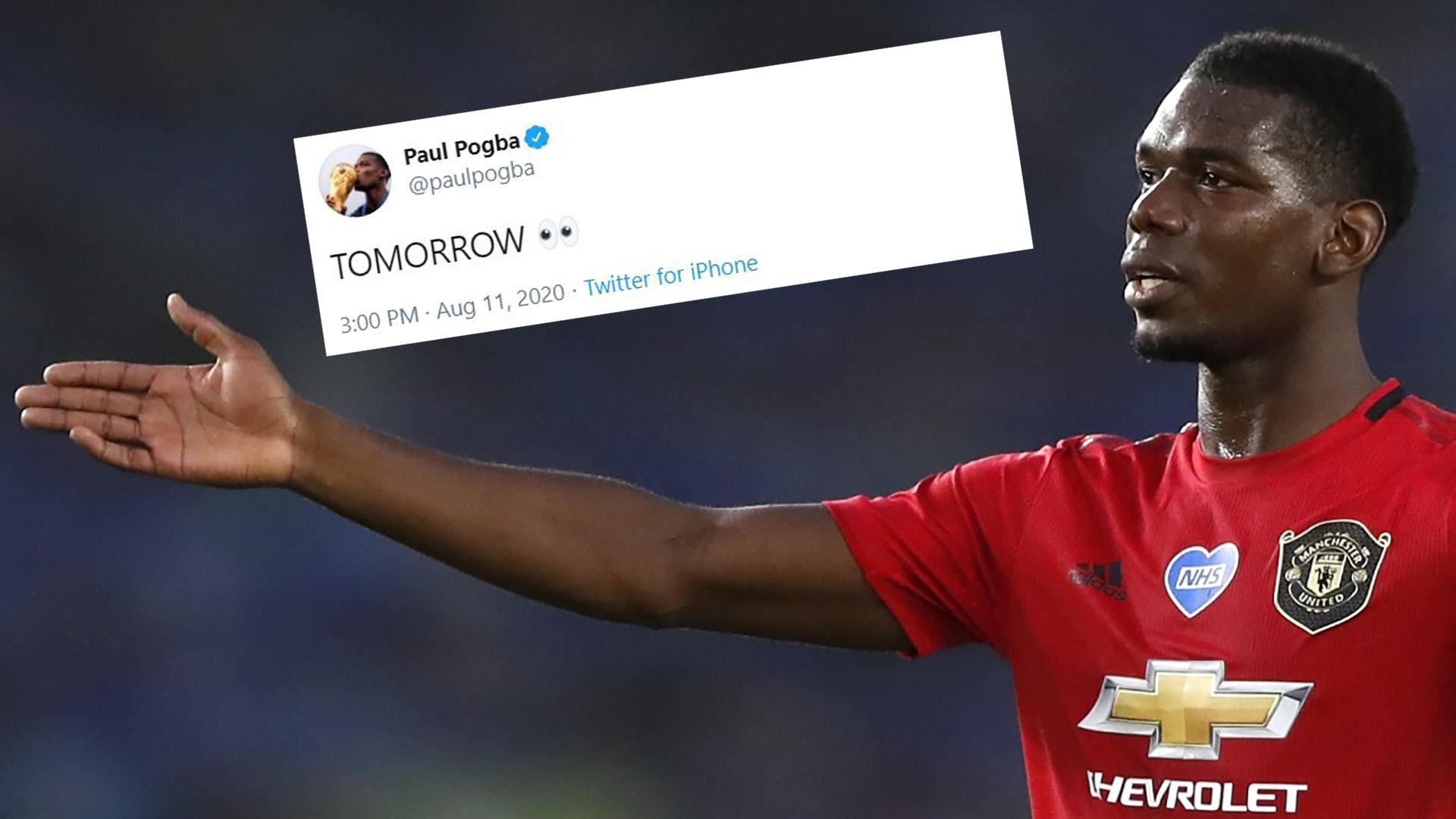 Tomorrow Pogba Raises Hopes Of New Man Utd Contract With Cryptic Social Media Post But Star Says It S Nothing About Football