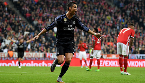 Champions League: Ronaldo erzielt 100. Europapokal-Tor