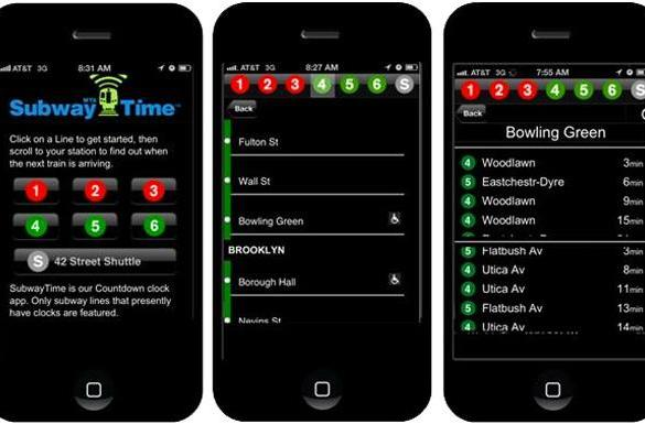 MTA app for iPhone offers New Yorkers real-time subway arrivals, a small dose of relief