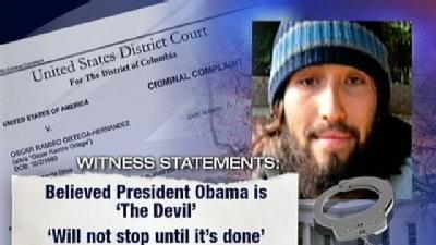 Man Charged In Pittsburgh With Trying To Kill President Obama