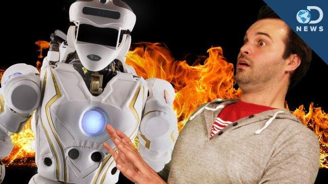 NASA's Robot Ironman Will Save the Day - Discovery News