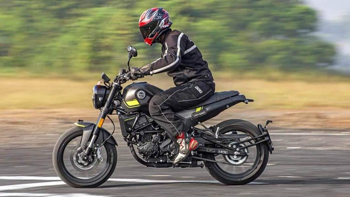 Benelli 600RR fully-faired motorcycle spotted in two