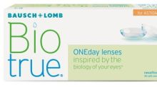 Bausch + Lomb Launches Expanded Parameters for Biotrue® ONEday for Astigmatism Daily Disposable Contact Lenses