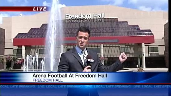 Arena football returning to Freedom Hall