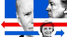 Joe Biden vs Hillary Clinton: How the polls compare in the week before the US election