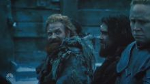 'Game of Thrones': Tormund won't stop ogling Brienne off camera