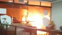Roubo de cinema: 40 bandidos atacam três agências simultaneamente em Botucatu (SP)