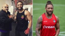 NRL great Manu Vatuvei swaps boots for gloves