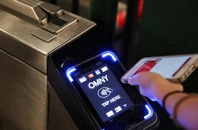 Every NYC subway station now supports contactless payments