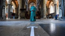 Salisbury Cathedral to reopen to tourists with art extravaganza