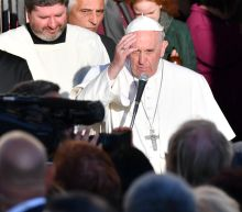 Pope says some refugee centres 'concentration camps'