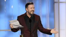 Ricky Gervais to host Golden Globes for fifth and final time
