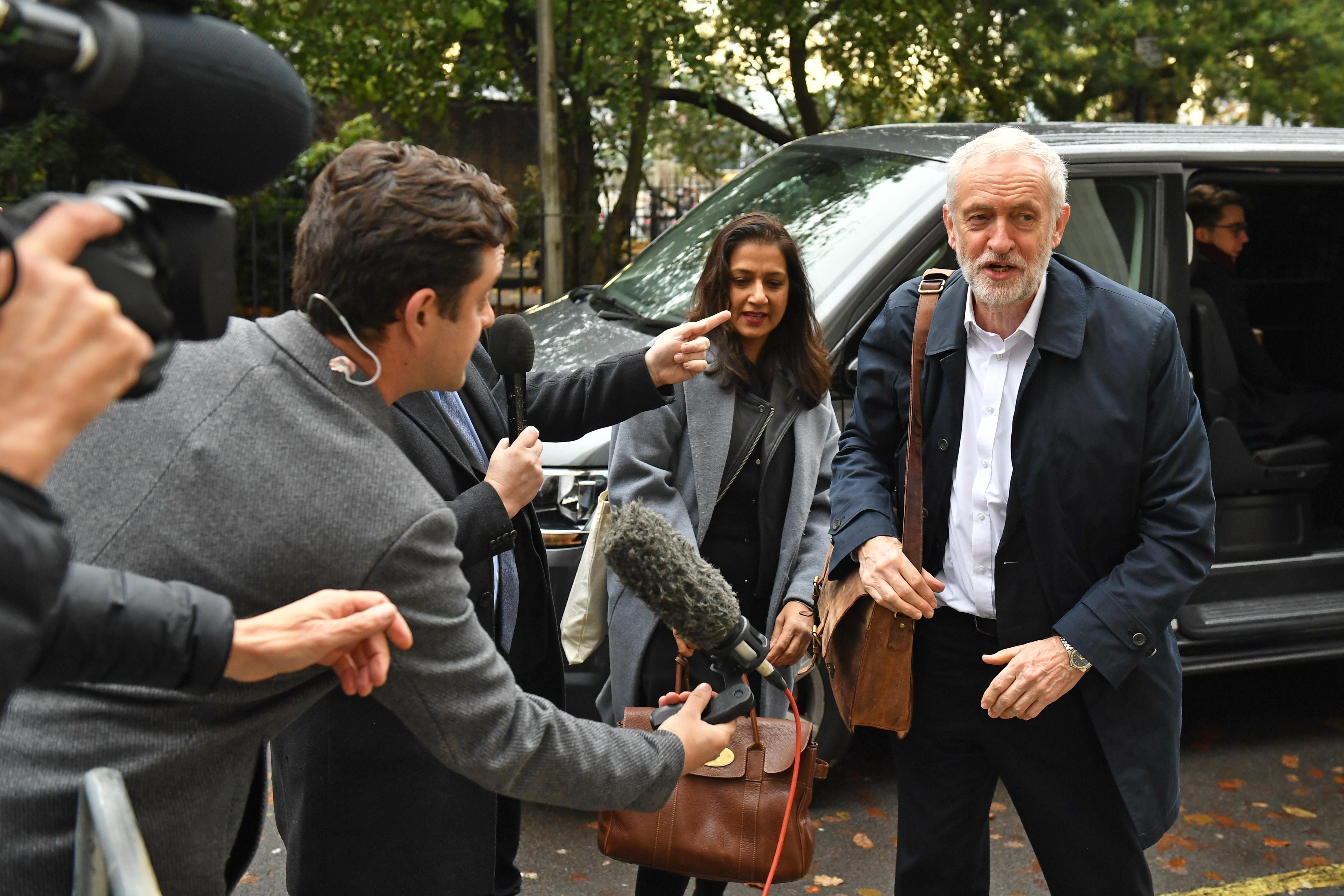 In Pictures: Boris goes door-knocking as Labour holds manifesto meeting