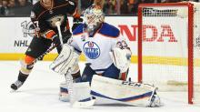 Playoff Roundup: Talbot, Oilers slip past Ducks to take 2-0 series lead