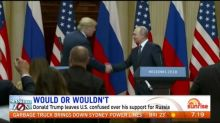 Donald Trump facing criticism for his support for Russia