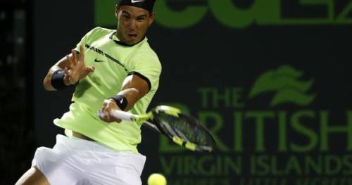 Tennis - ATP - Miami - Rafael Nadal élimine Fabio Fognini et se qualifie en finale à Miami