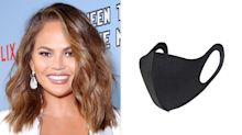 Chrissy Teigen Wore a $3 Cloth Face Mask You Can Buy on Amazon