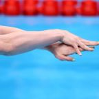 Olympics-Swimming-First medals on the line in Tokyo pool